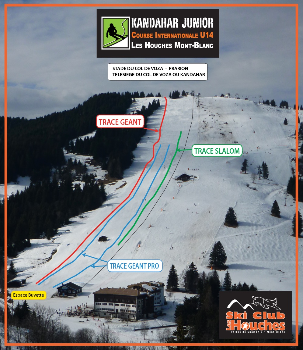 plan des piste kandahar junior